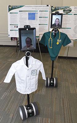 Photo of telepresence robots