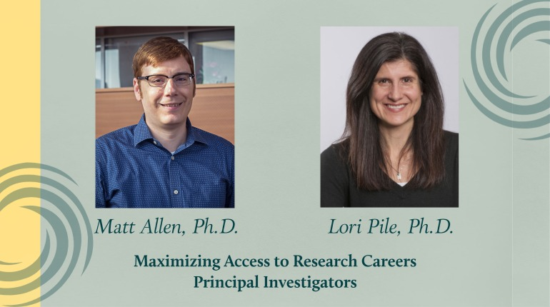 Wayne State's Matthew Allen, Ph.D., chair of chemistry, and Lori Pile, associate professor of biological sciences, will lead the newly-funded MARC program.