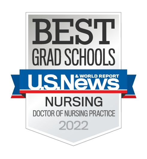US News & World Report 2022 Best Grad Schools Badge for MSN program