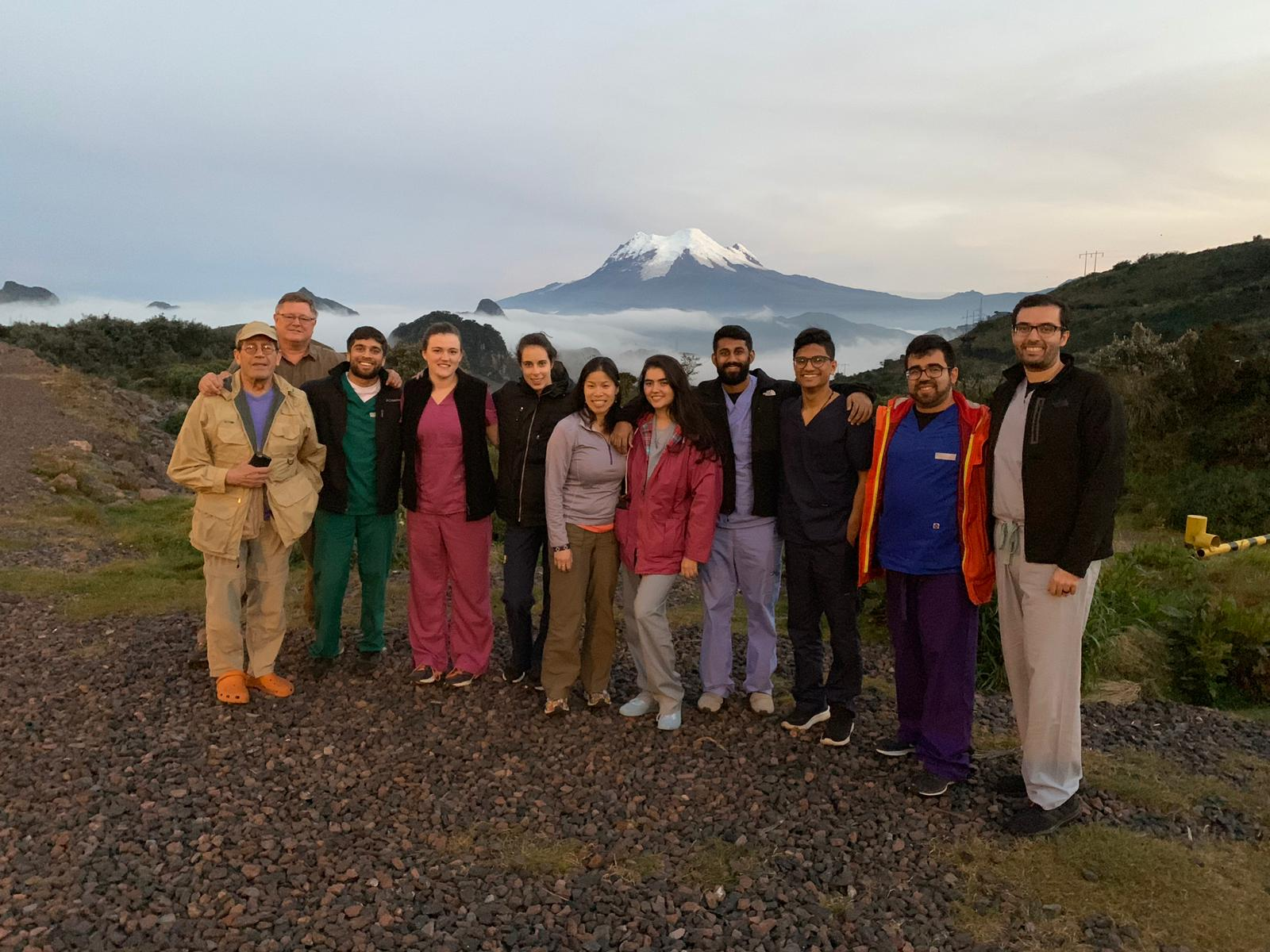 Wayne State medical students travel to Ecuador with the WHSO for service learning trip