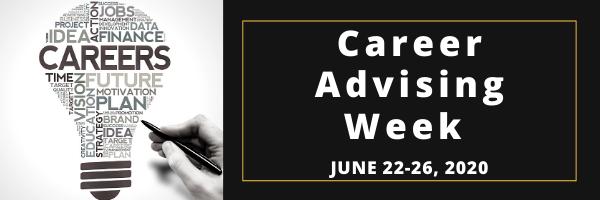 Career Advising Week 2020 Logo