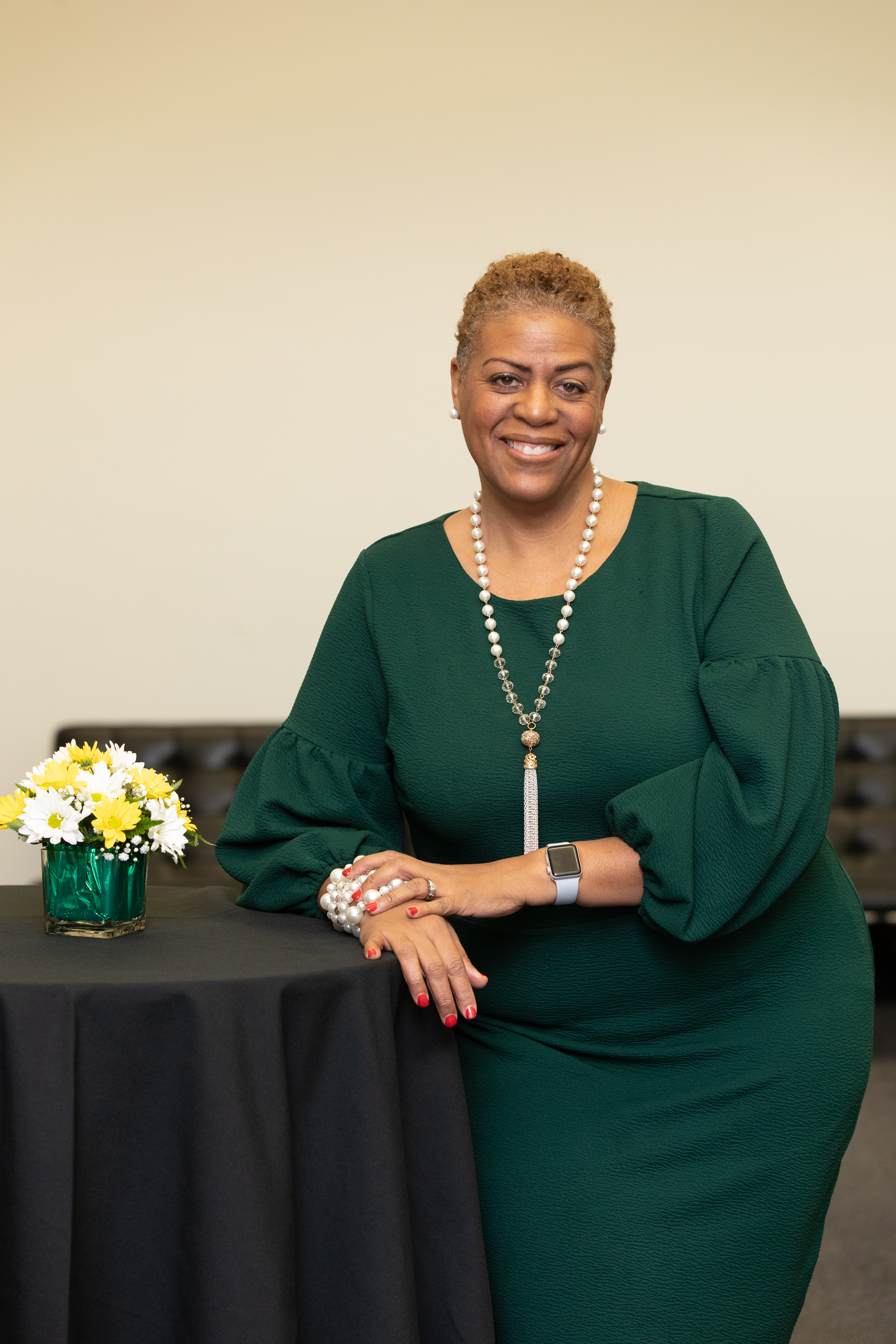 Wayne State Board of Governors chair Kim Trent