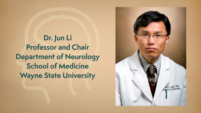 Jun Li, M.D., Ph.D. from Wayne State's School of Medicine received a grant from the National Institutes of Health to develop new strategies for assessing appropriate treatments of peripheral nerve diseases.