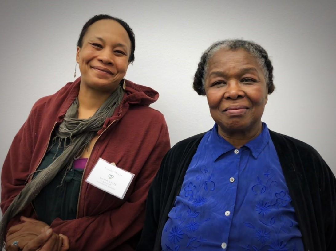 Kendra Moyer and Edna E. Ewell Watson