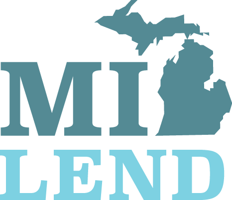 MI-LEND block logo