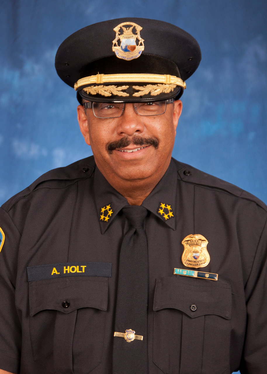 Police Department chief Anthony Holt