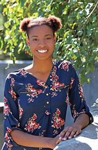 photo of nursing student Nauja Swann