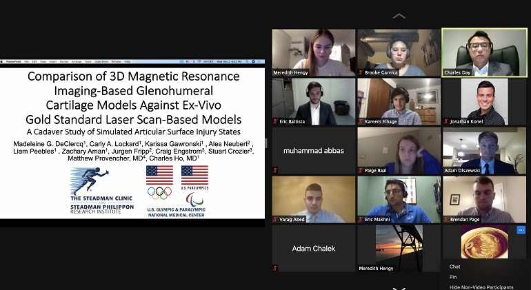 OSIG Clinical Research Showcase via snapshot