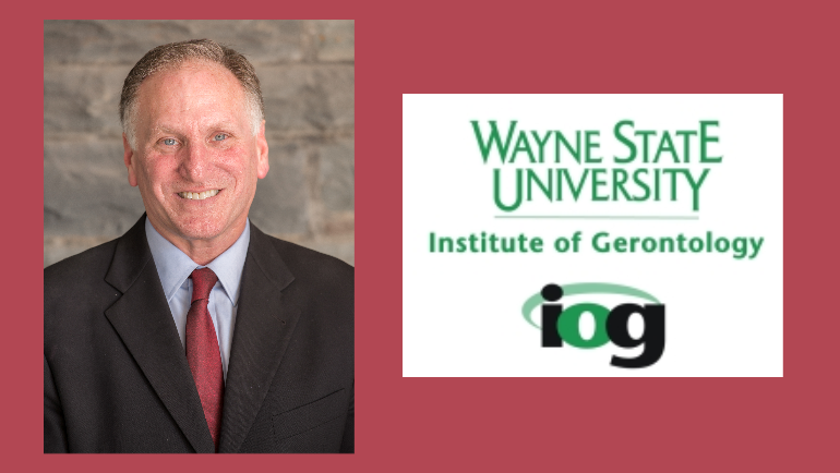 Peter Lichtenberg, director of Wayne States Institute of Gerontology, elected president of Gerontological Society of America