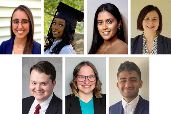 2021 Public Interest Law Fellowship recipients