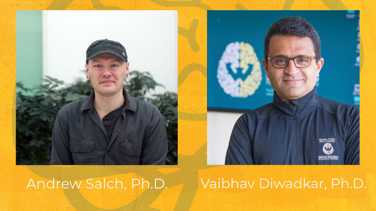 Dr. Andrew Salch, Department of Mathematics, and Dr. Vaibhav Diwadkar, Department of Psychiatry and Behavioral Neurosciences, teamed up to apply complex mathematics to better analyze fMRI data