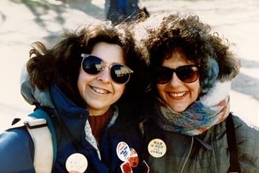 Sara Gleicher and Roseanne Simons