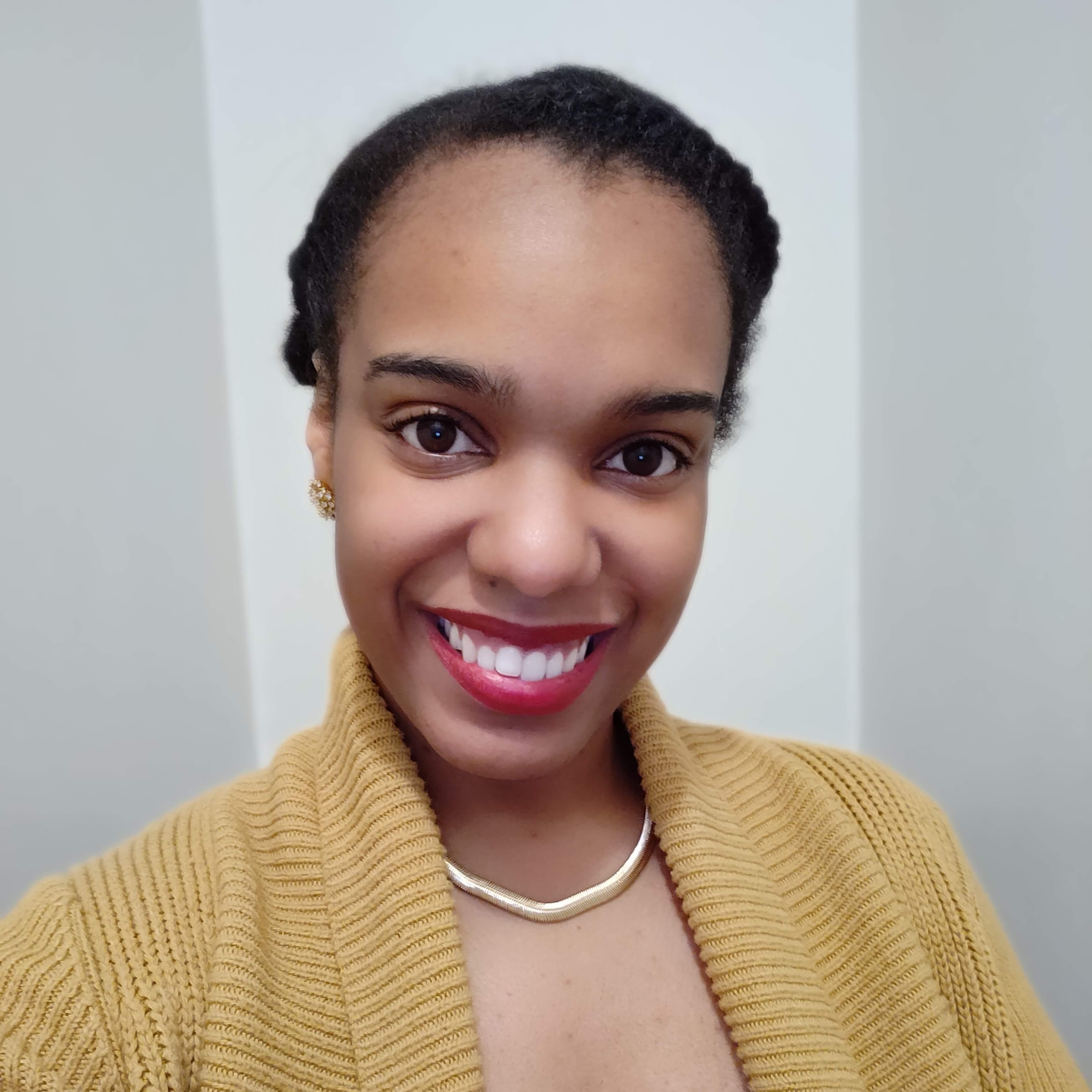 Sarah Whitney smiling
