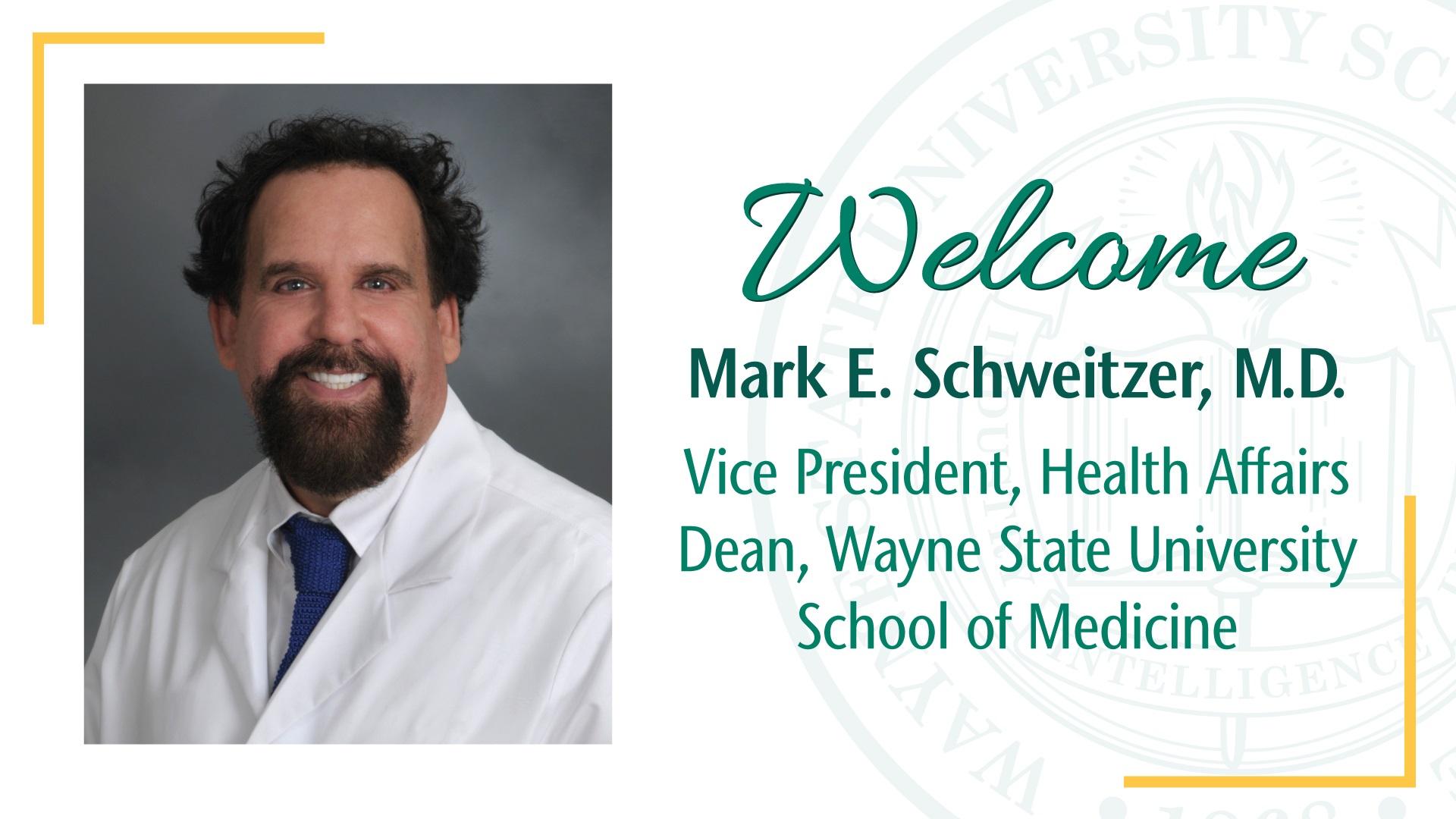 Mark Schweitzer, M.D.