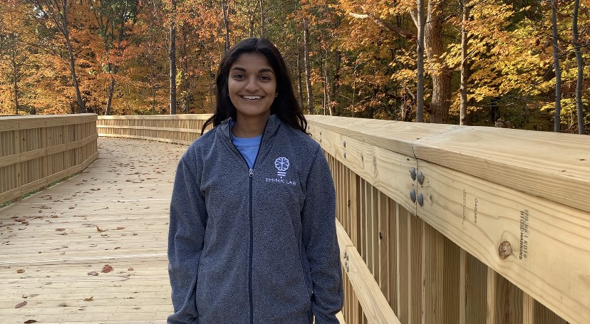 Shreya Desai, Wayne State University ungergraduate student, won first place in the undergraduate category of the Science Coalition's Fund It Forward Student Video Challenge.