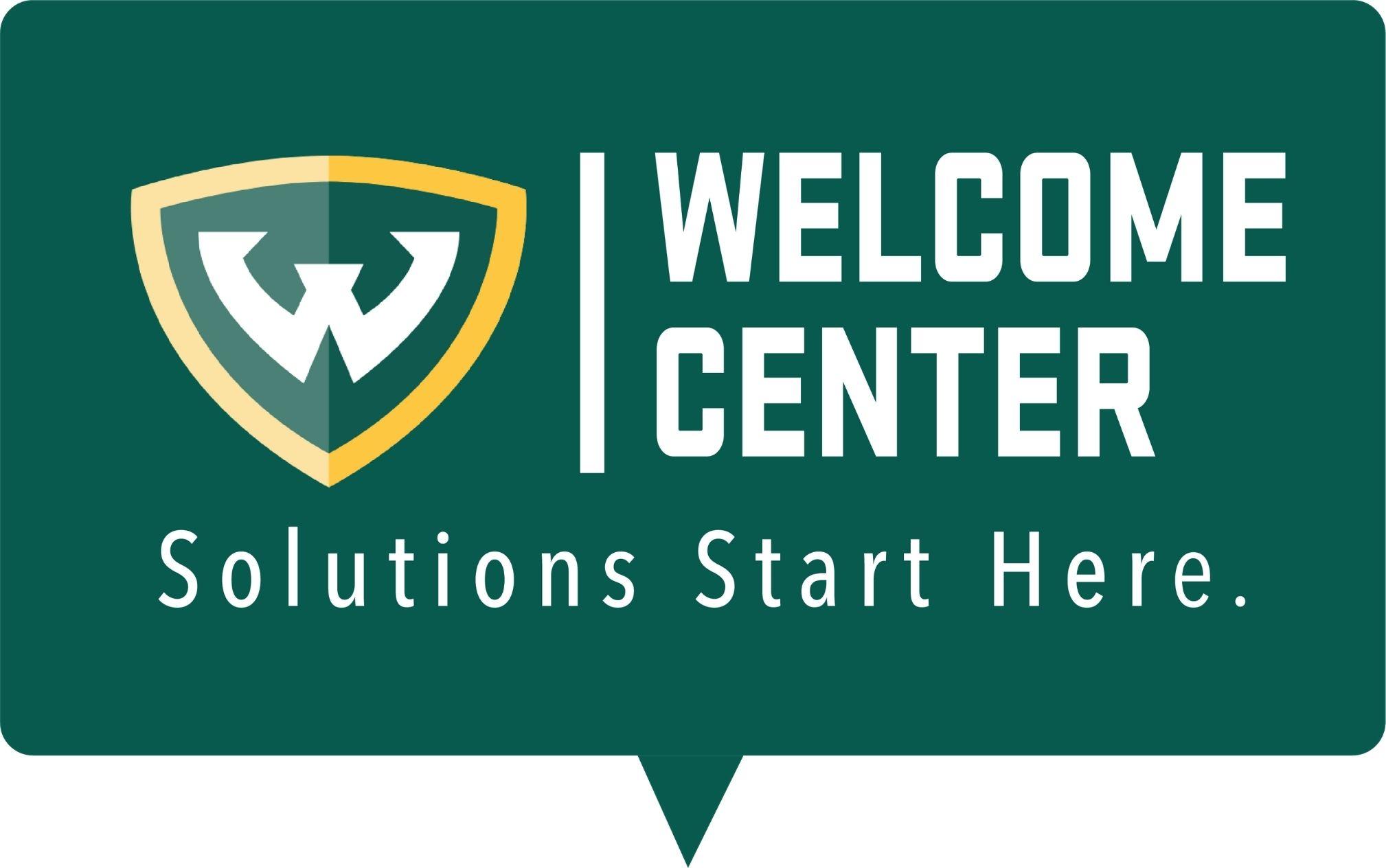 Welcome Center logo