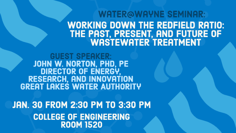 Join us to learn about the future of wastewater treatment!