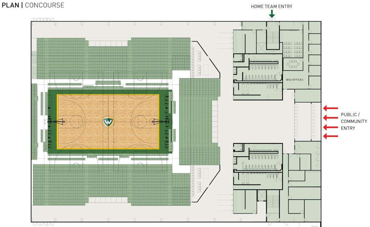 f6913e45130da Wayne State University to construct new basketball facility - Today ...