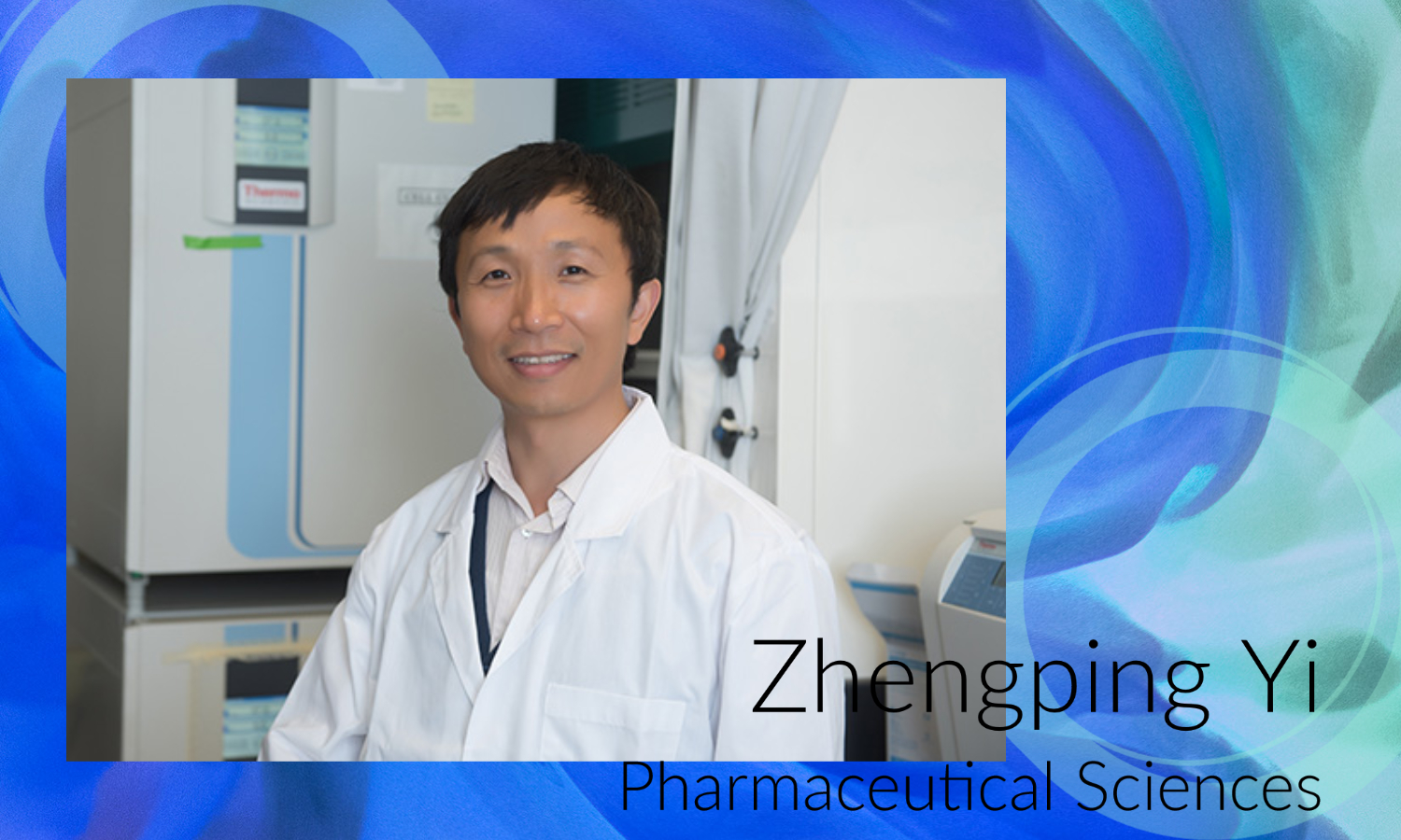 Zhengping Yi, Ph.D., professor of pharmaceutical sciences, received a four-year, $1.5 million grant from the National Institutes of Health to find new treatment for diabetic wound healing
